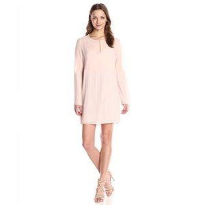 BCBG pleated sleeve dress